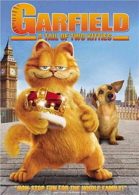 دانلود انیمیشن گارفیلد 2 Garfield: A Tail of Two Kitties